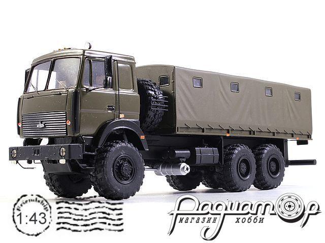 МАЗ-6317 с тентом (1995) NIK074