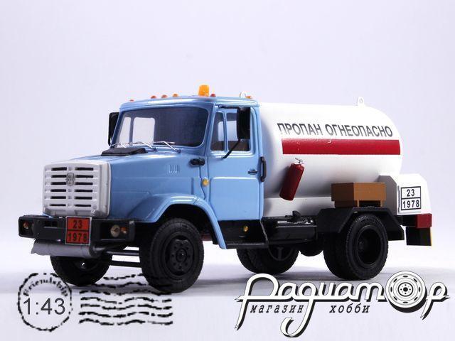 ЗиЛ-4331 автоцистерна «Пропан» (1986) NIK075