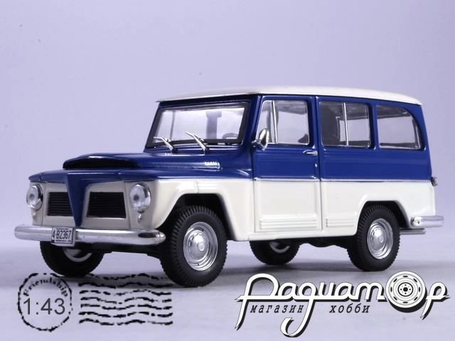 Willys Rural 4х4 (1968) WB092