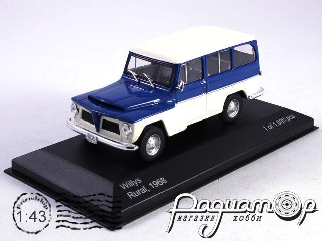 Willys Rural 4х4 (1968) WB092