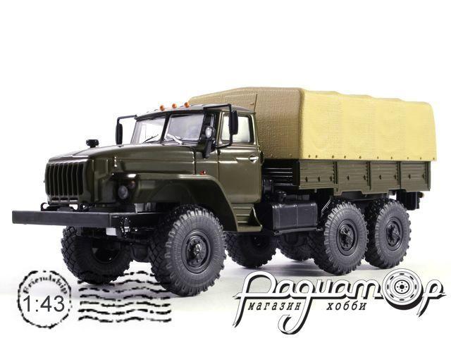УРАЛ-4320-31 (двигатель ЯМЗ-238) бортовой, с тентом (1980) 100954