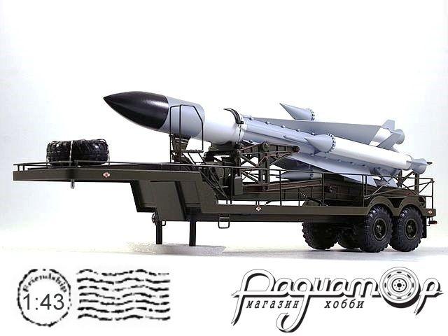 Полуприцеп с зенитно-ракетным комплексом С-200 (1967) NIK078