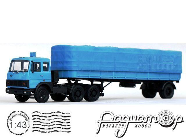 МАЗ-6422 седельный тягач (1981) H796