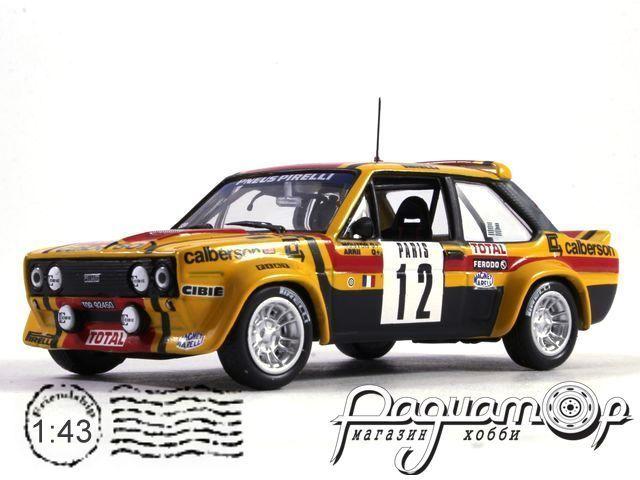 Fiat 131 Abarth №12, M.Mouton-A.Arrii, Rallye Monte-Carlo (1980)
