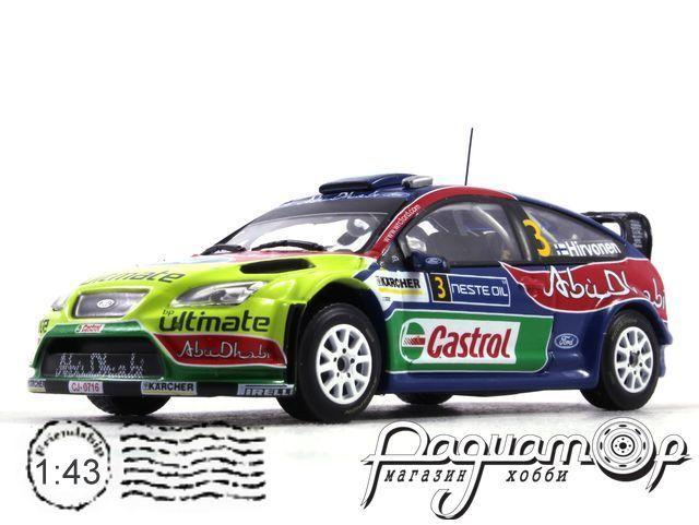 Ford Focus WRC №3, Mikko Hirvonen - Jere Lehtinen, Rally Neste Oil (2008) (I)