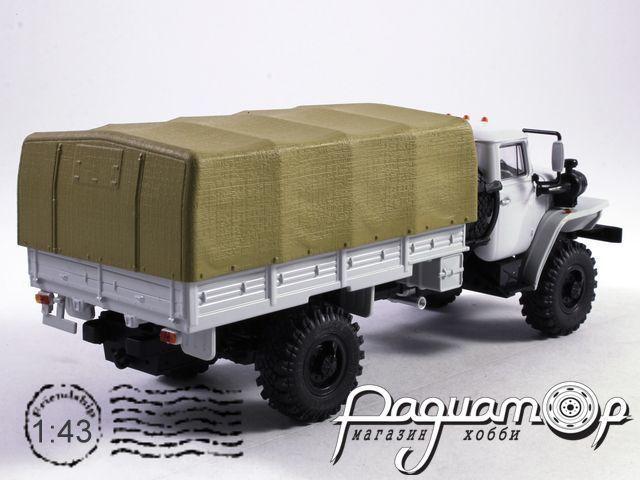 УРАЛ-43206 4х4 бортовой, с тентом (1978) 101029