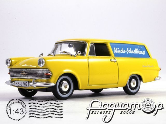Opel Rekord P2 Caravan Wascheservice (1960) 530408