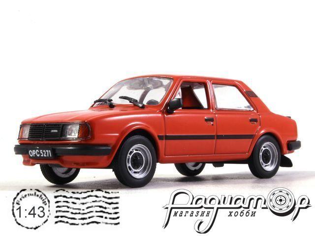 Автолегенды СССР и Соцстран №153, Skoda 120LS (1976)