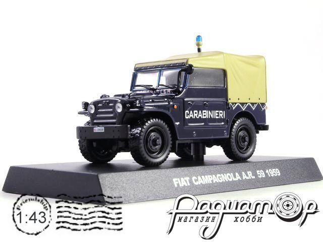 Полицейские машины мира. Спецвыпуск №1, Fiat Campagnola AR59 Полиция Италии (1959)