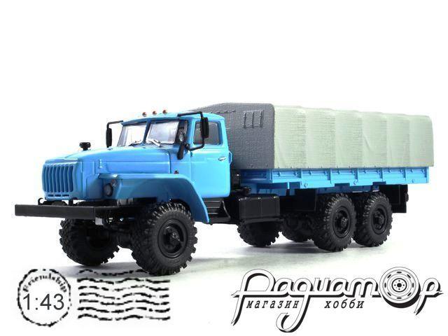 УРАЛ-4320-0911 бортовой с тентом (длиннобазный, база 4555 мм) (1980) 101043