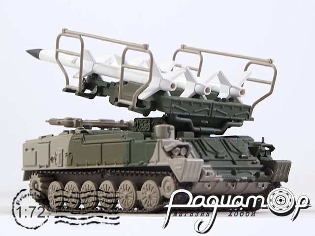 Русские танки №68, 2К12 «Куб» (1967)