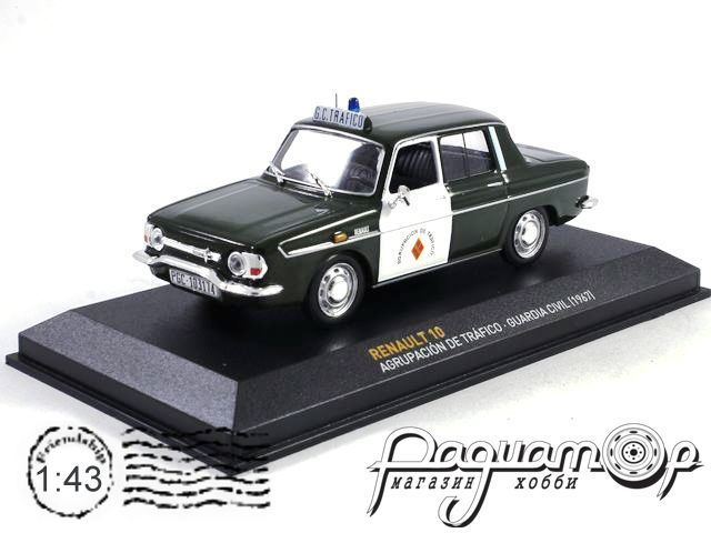 Renault 10 Agrupacion De Trafico Guardia Civil (1967) AL005