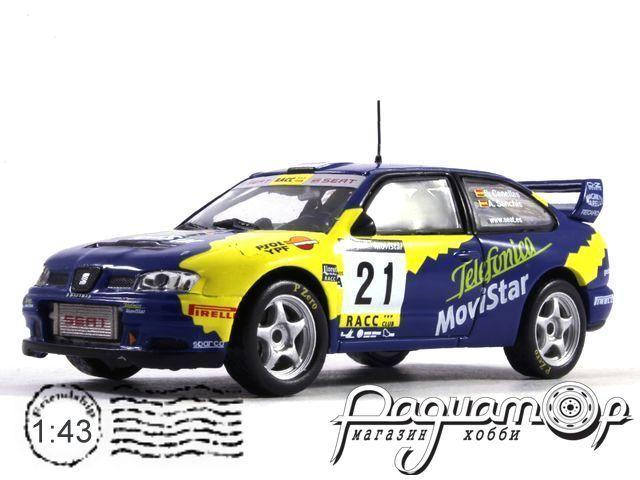 Seat Cordoba WRC EVO 3 №21, Rallye Catalunya - Costa Brava, Salvador Canellas - Albert Sanchis (2001) (I)