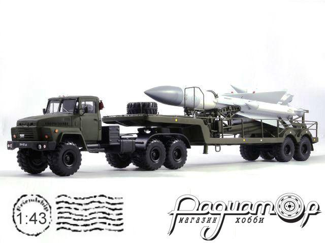 КрАЗ-260 с зенитно-ракетным комплексом С-200 (1979) KM3001