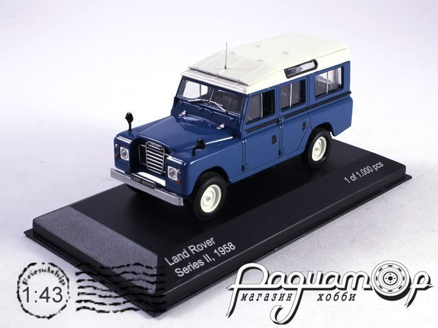 Land Rover Series II 109 Station Wagon 4х4 (1958) WB135