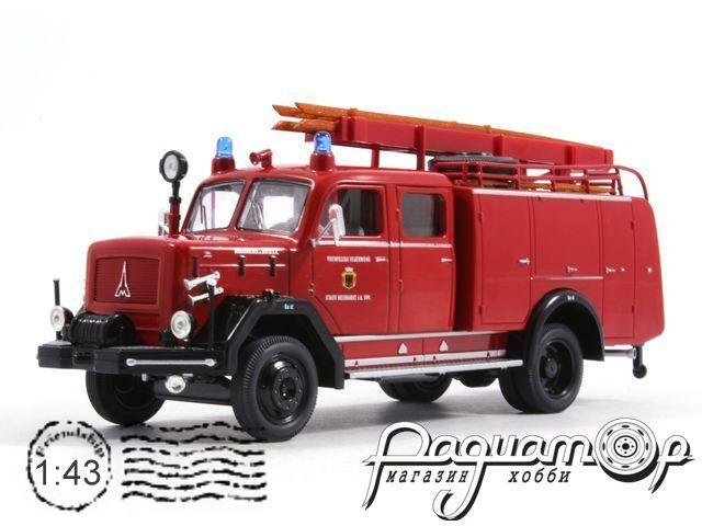 Magirus-Deutz 150D 10F TLF16, Werkfeuerwehr Magirus Ulm (1964) 43015X