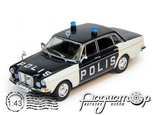 Полицейские Машины Мира №77, Volvo 164 Полиция Швеции (1968)