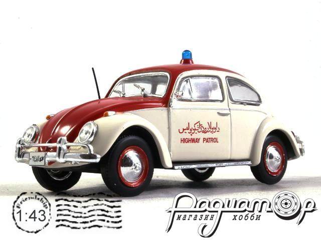 Полицейские Машины Мира №80, Volkswagen Beetle Полиция Афганистана (1970)