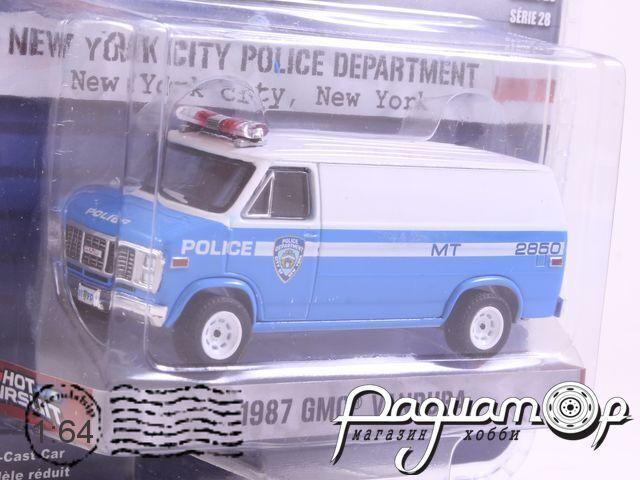 GMC Vandura NYPD Police (1987) 42850-C (D)