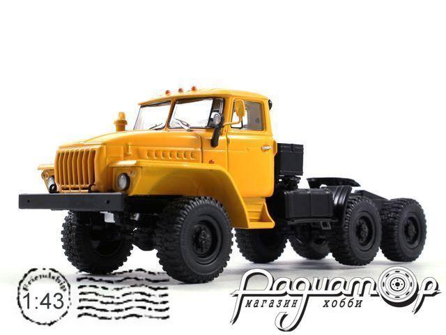 УРАЛ-44202 седельный тягач 6х6 (1977) 100992