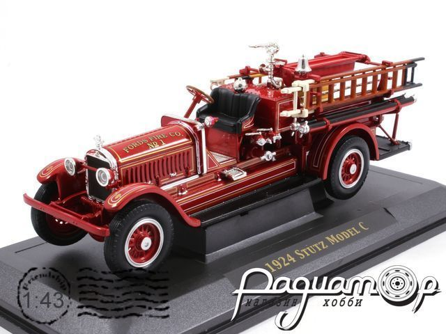 Stutz Model C, RHD, Fords Fire Co (1924) 43006