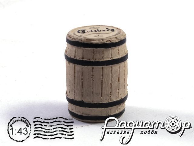 Бочка деревянная «Carlsberg» (Киммерия)