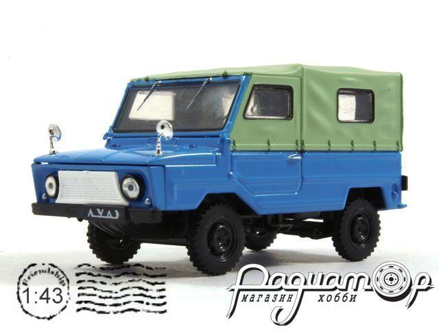 Автолегенды СССР №63, ЛуАЗ-969 «Волынь» (1967)