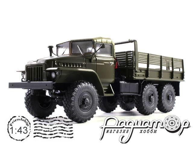Урал-375 (тентованная кабина) бортовой (1964) 101036