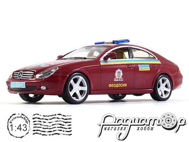 Mercedes-Benz CLS ДПС Украины (2004) 0783