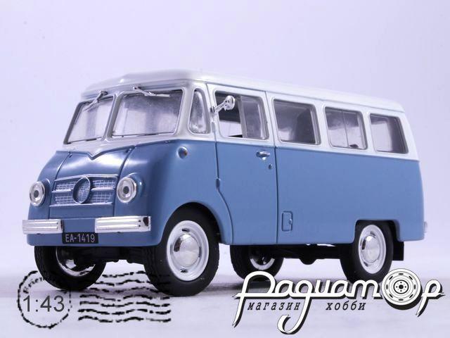 Автолегенды СССР и Соцстран №159, Nysa N59 (1958)