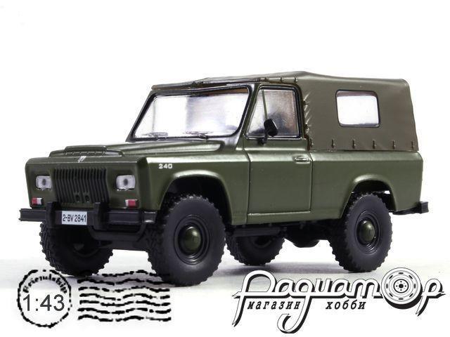 Автолегенды СССР и Соцстран №166, ARO 240 (1972)