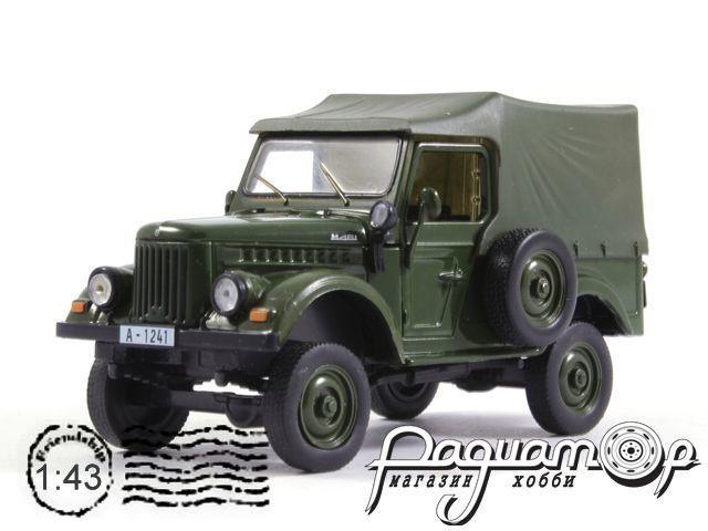 Автолегенды СССР и Соцстран №168, IMS M461 (1957) (Z)