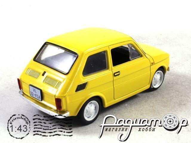 Автолегенды СССР и Соцстран №169, Polski Fiat 126p (1972)