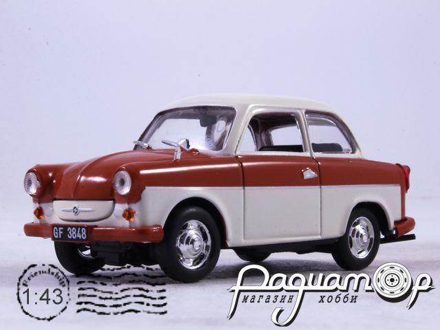 Автолегенды СССР и Соцстран №173, Trabant P50 (1957)