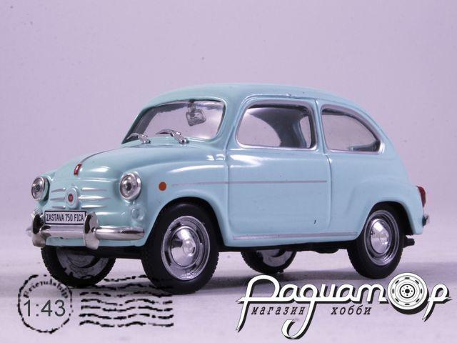 Автолегенды СССР и Соцстран №178, Zastava 750 (1955)