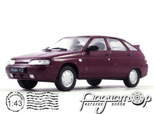Автолегенды СССР и Соцстран №183, ВАЗ-2112 (1999)