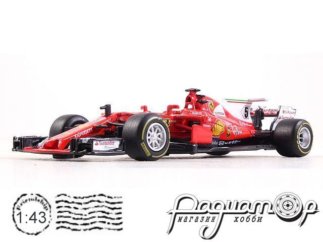 Ferrari SF70H, Sebastian Vettel (2017) (I)