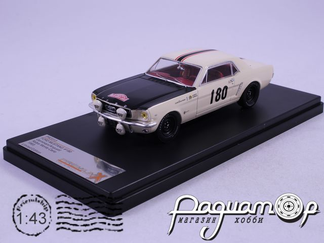 Ford Mustang №180 Geminiani/Anquetil Rally Monte Carlo (1965) PRD313