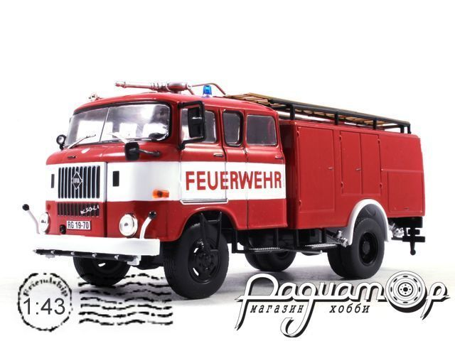 IFA W50 TLF-16 (1971) Hachette