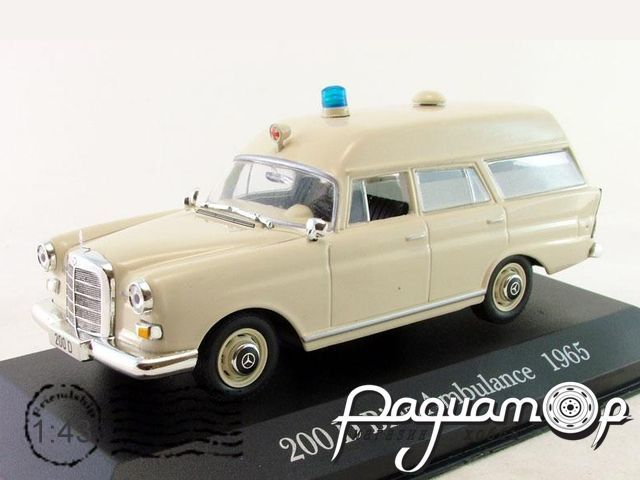 Mercedes-Benz 200D Binz Ambulance (1965) LMB67