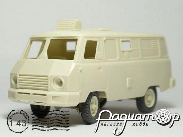Сборная модель Диса-1912 на шасси УАЗ-3741 (1980) MM1013