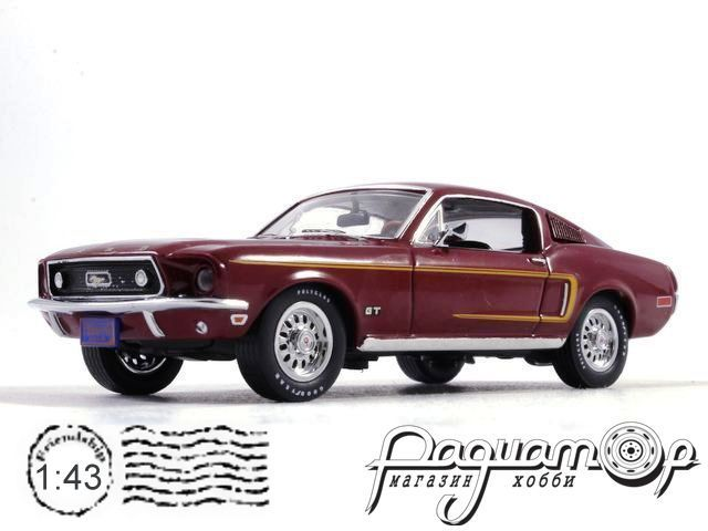 Ford Mustang GT 390 Fastback (1968) PRD369