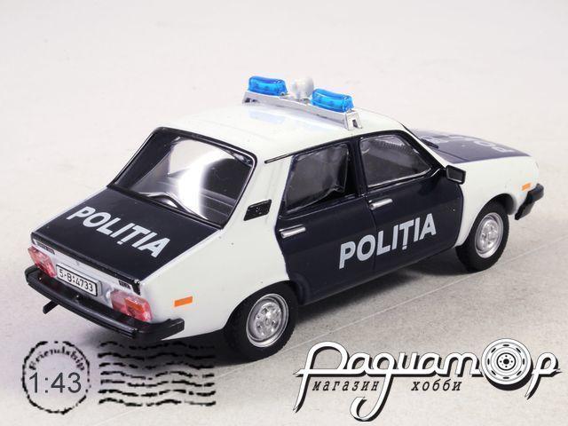 Полицейские Машины Мира №52, Dacia 1310 Полиция Румынии (1980)