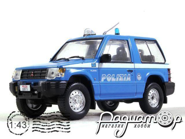 Полицейские Машины Мира. Спецвыпуск, Mitsubishi Pajero SWB Полиция Италии (1998)