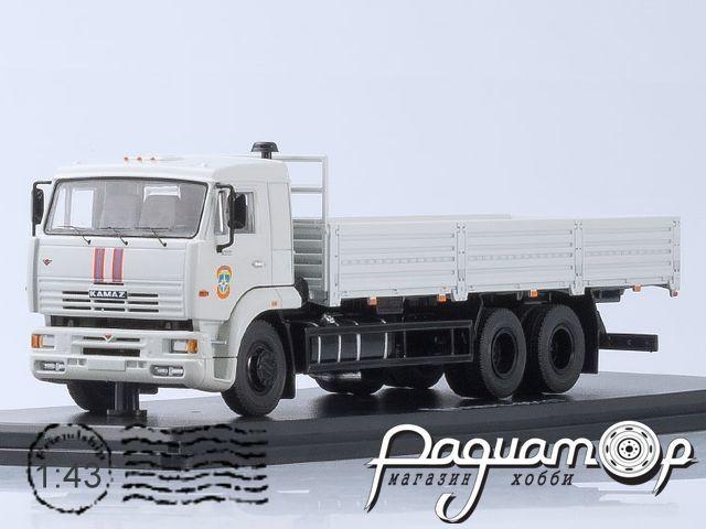 КамАЗ-65117 МЧС с тентом (2003) SSM1245