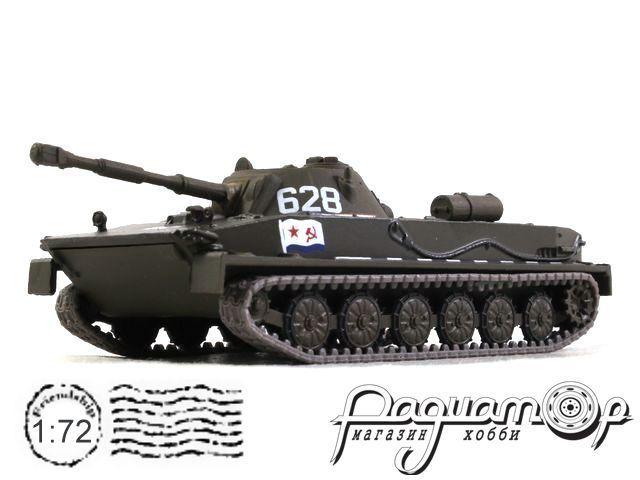 Русские танки №10, ПТ-76 (1951)