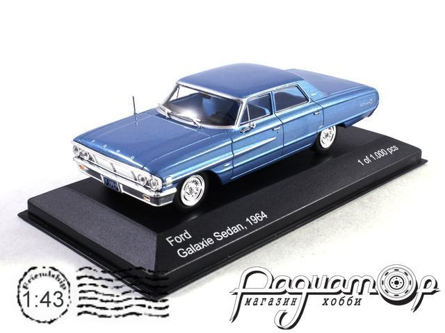 Ford Galaxie Customs 500 Sedan (1964) WB132