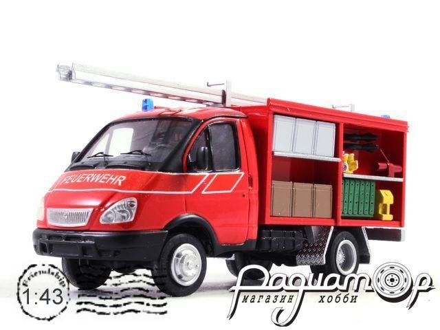 ГАЗ-3302 «Газель» пожарный (1994) NIK084
