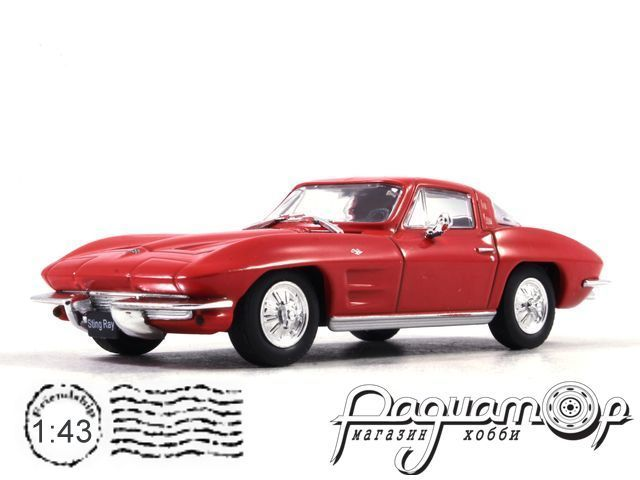 Автолегенды Мира №3, Chevrolet Corvette Stingray (1973)