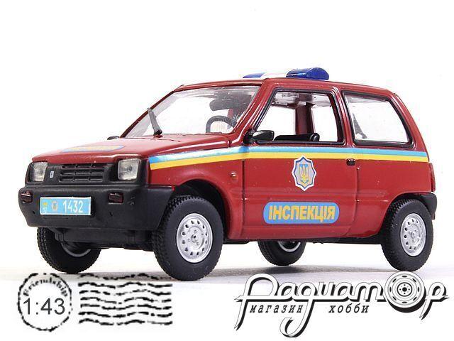 ВАЗ-1111 «Ока» Инспекция Украины (1988) 0859